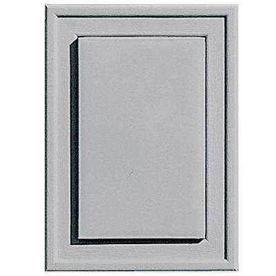 4.5 in. x 6.25 in. #016 Gray Raised Mini Universal Mounting Block