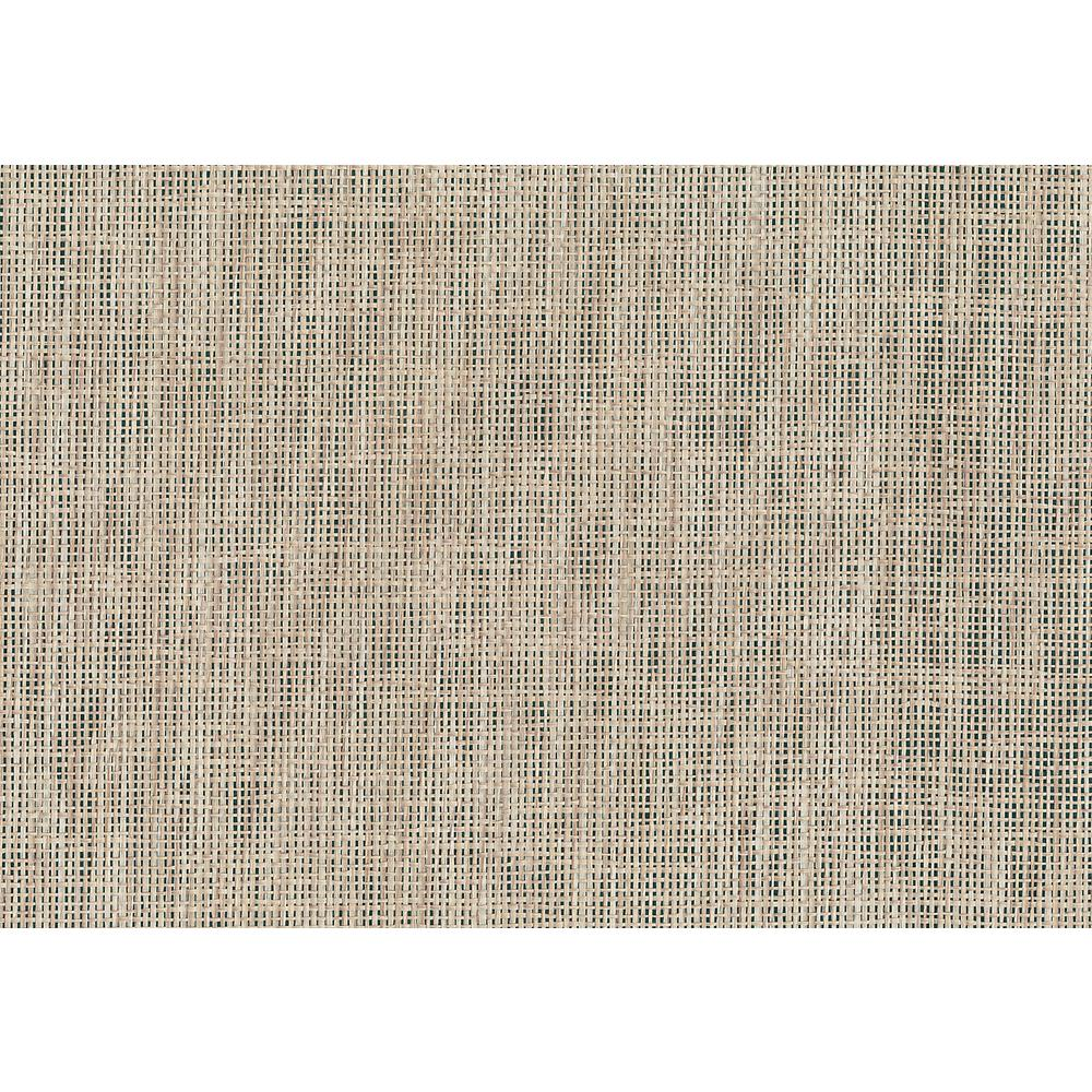 8 in. x 10 in. Kyou Taupe Grasscloth Wallpaper Sample