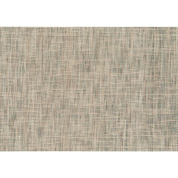 Kenneth James 8 in. x 10 in. Kyou Taupe Grasscloth Wallpaper