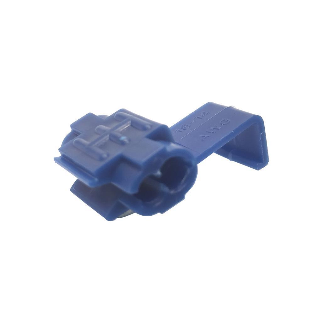 16-14 AWG Tap Splice, Blue (Case of 10)