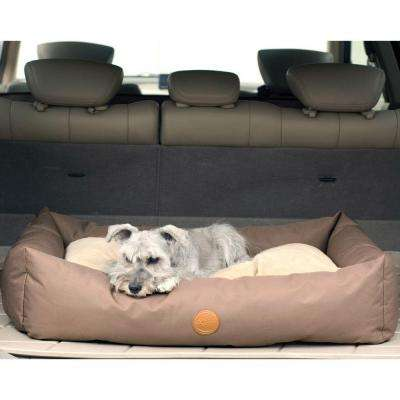 Travel/SUV Large Tan Pet Bed