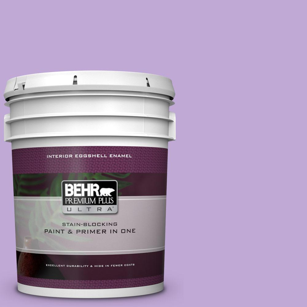 Purple Interior Paint: BEHR Premium Plus Ultra 5 Gal. #MQ4-59 Purple Gladiola