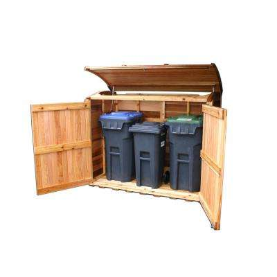 6 ft. x 3 ft. Oscar Waste Management Shed