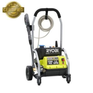ryobi 1 700 psi 1 2 gpm electric pressure washer ry14122 the home rh homedepot com