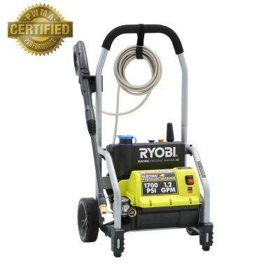 1,700 PSI 1.2 GPM Electric Pressure Washer