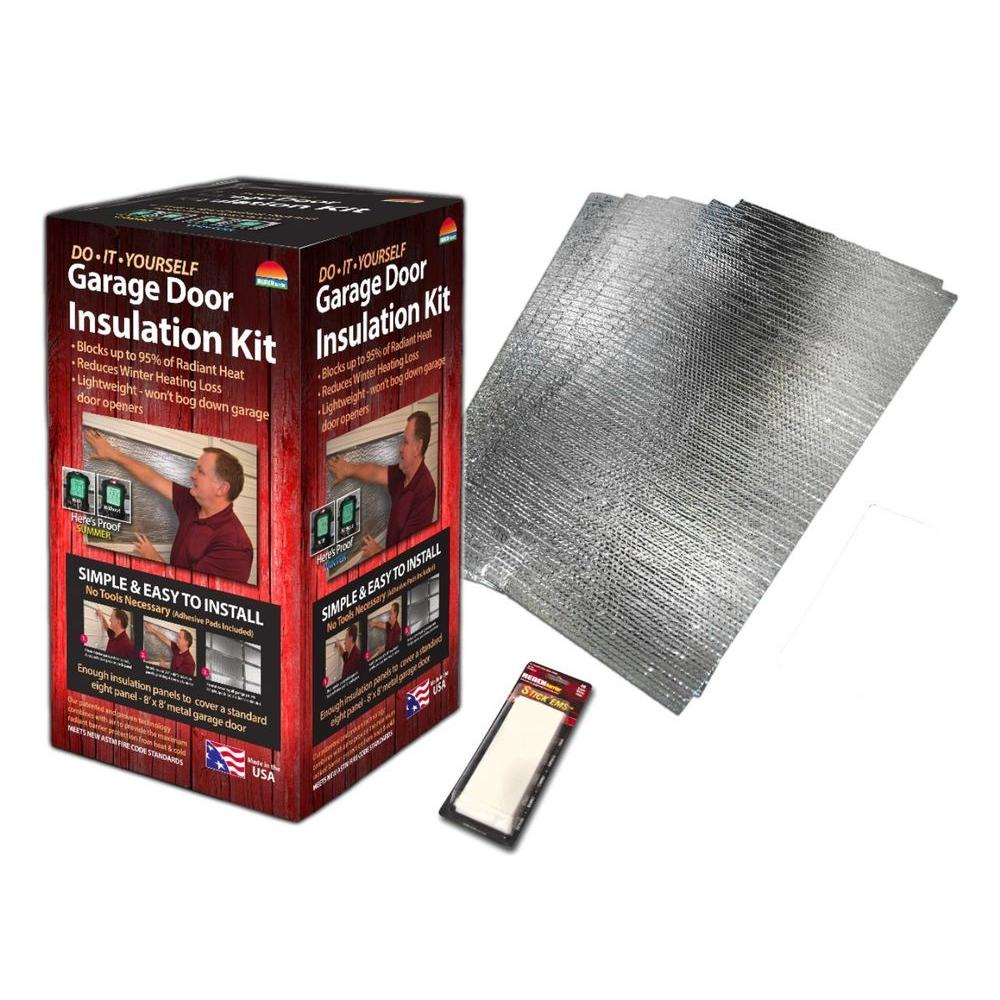 Reach Barrier Reflective Air Garage Door Insulation Kit 3009 The