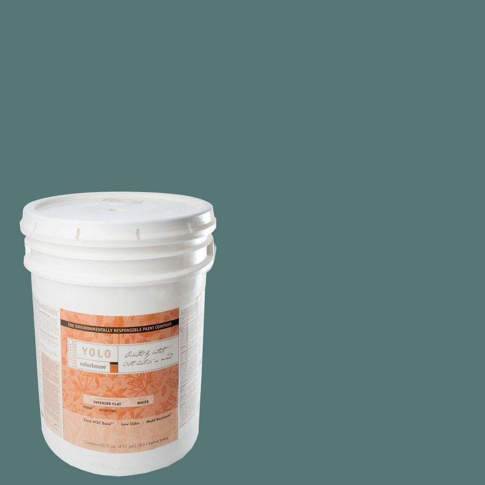 YOLO Colorhouse 5-gal. Wool .05 Flat Interior Paint-DISCONTINUED