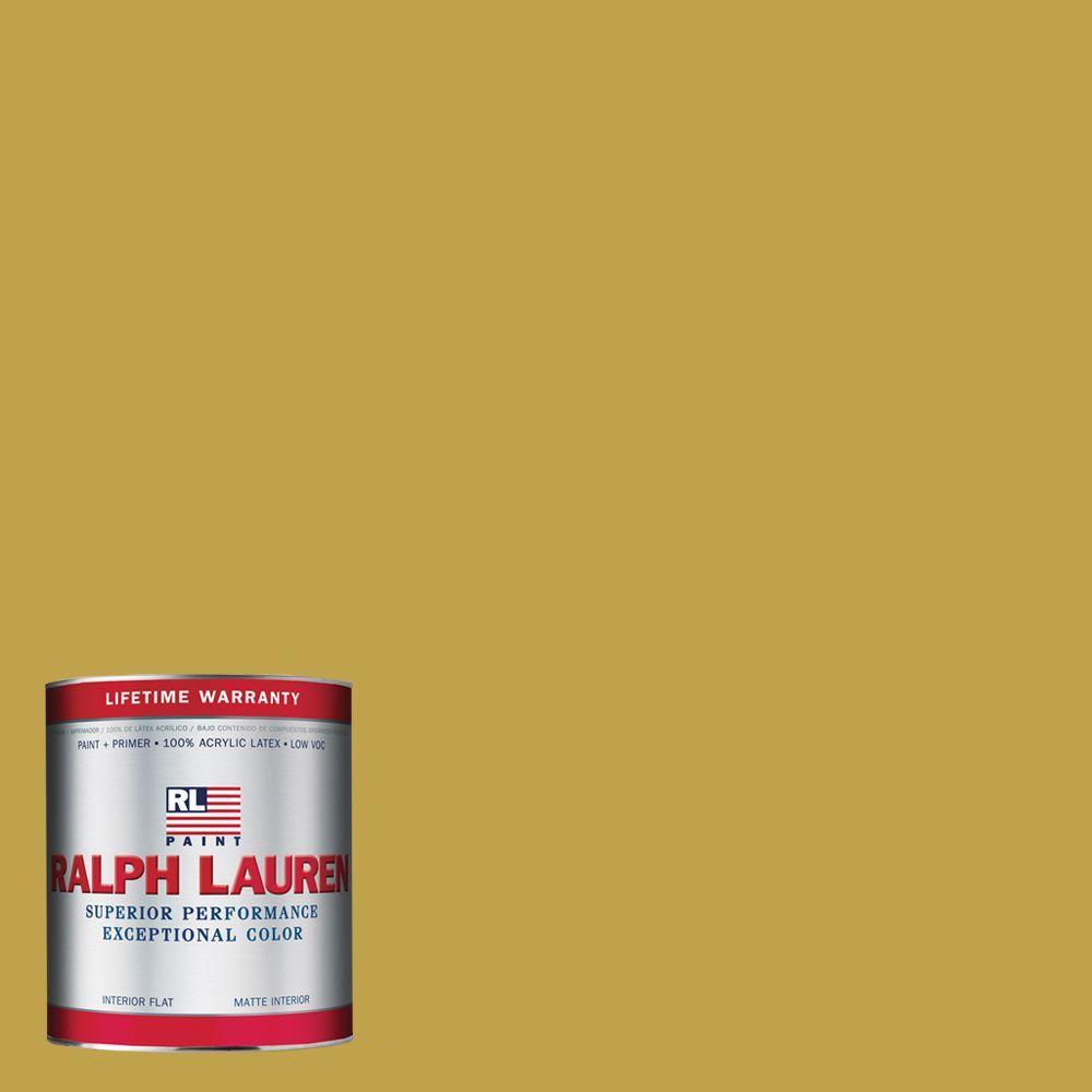 Ralph Lauren 1-qt. Historic Yellow Flat Interior Paint
