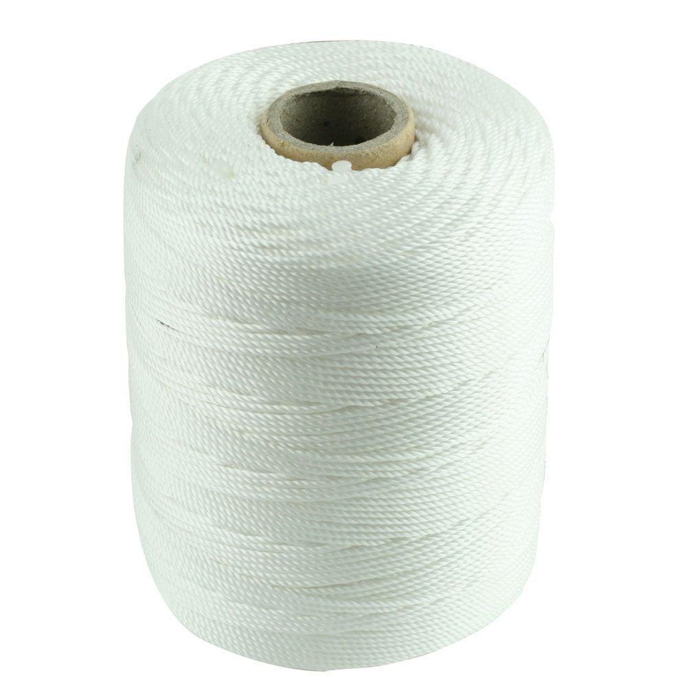 #18 x 1/16 in. x 800 ft. White Twisted Polypropylene Mason Twine