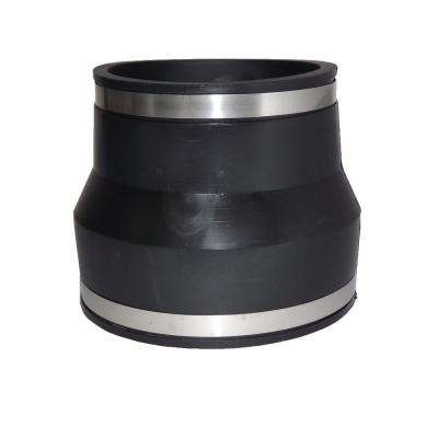 4 in. x 6 in. PVC Clay to C.I. or Plastic Flexible Coupling