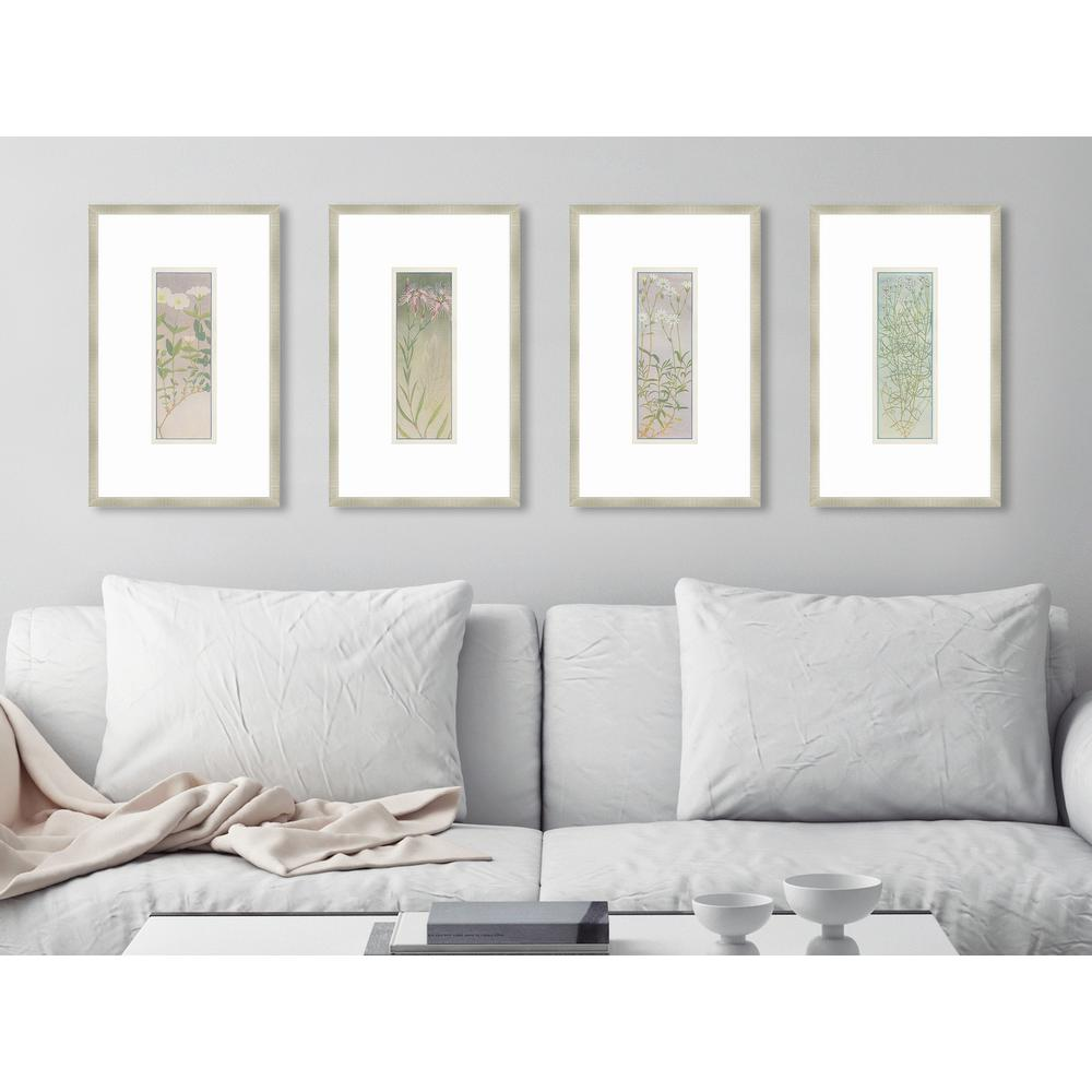 Melissa van hise 16 in x 10 in alpine flora in silver vii alpine flora in silver vii framed giclee print wall art hdip12737 the home depot jeuxipadfo Choice Image