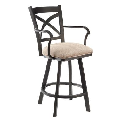 Fontana 26 in. Milan Swivel Barstool