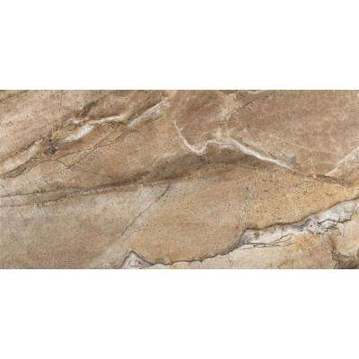 Eurasia Noce 12 in. x 24 in. Porcelain Floor and Wall Tile (11.64 sq. ft. / case)