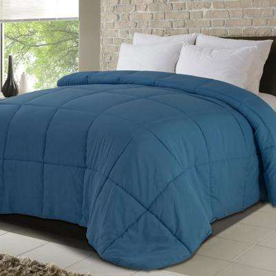 Never Down All-Season Full/Queen Microfiber Down Alternative Comforters