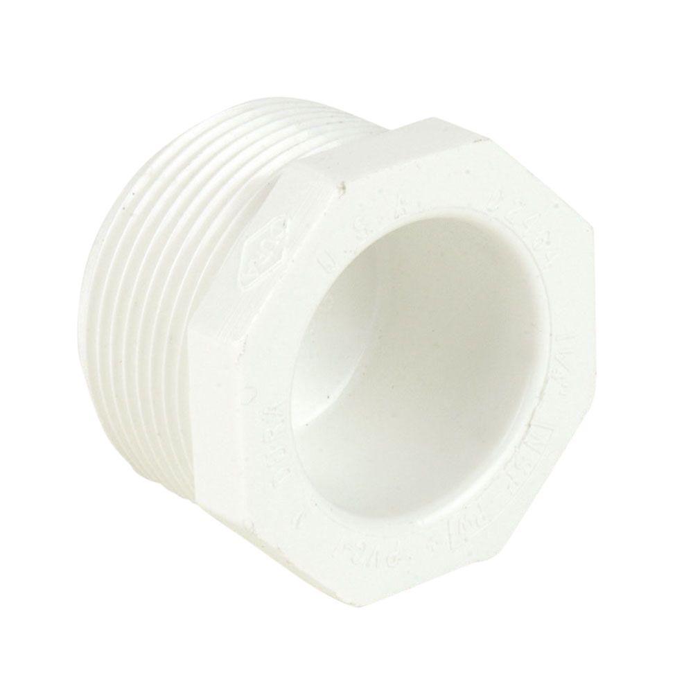 DURA 1-1/2 in. Schedule 40 PVC Plug