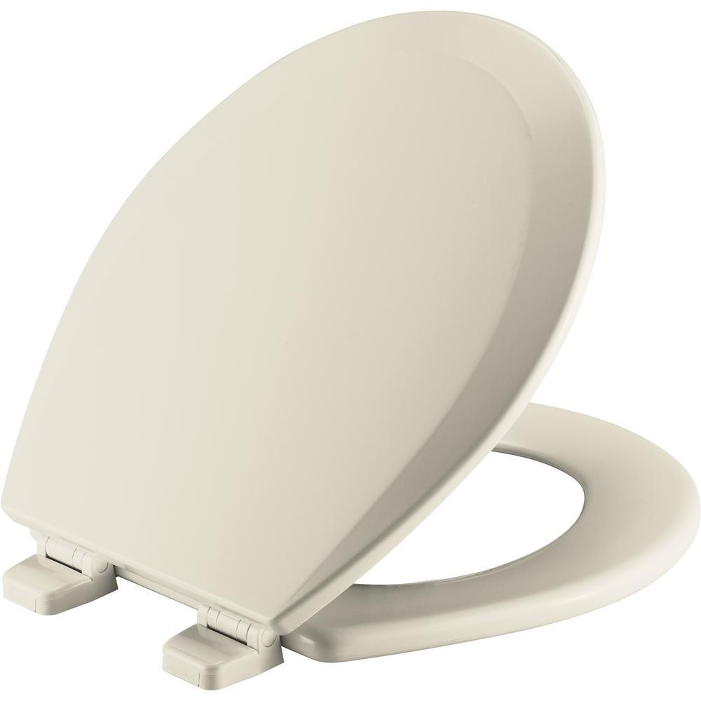 Superb Bemis Round Open Front Toilet Seat In Bone 7B550Ttt 006 Uwap Interior Chair Design Uwaporg