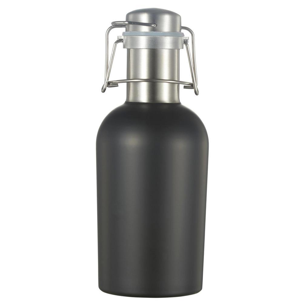 32 oz. Black Matte Water Bottle
