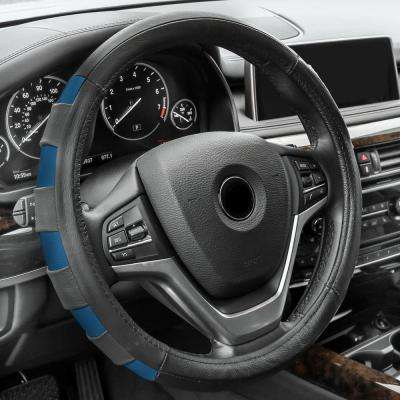 Genuine Leather Sport Steering Wheel Cover
