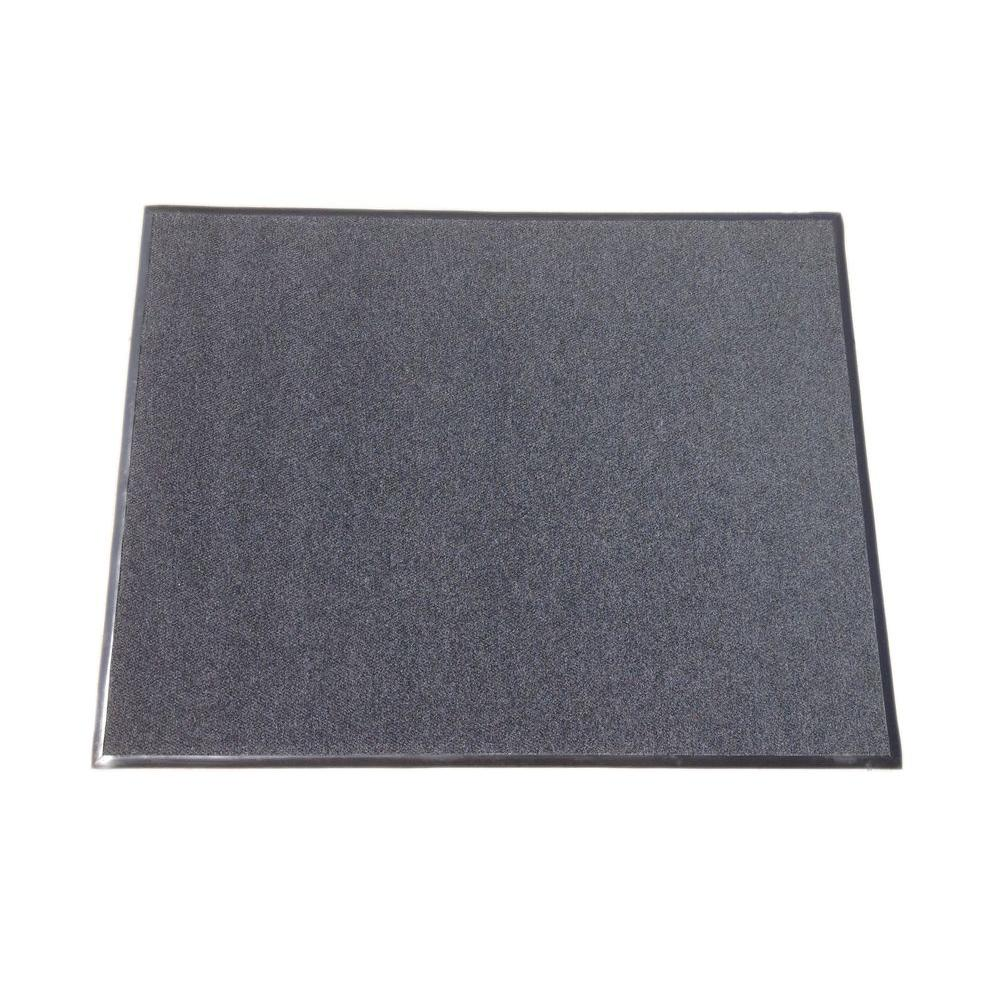 Black 72 in. x 94 in. Polypropylene All Weather Entrance Mat