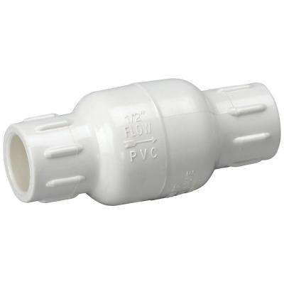 3/4 in. PVC Sch. 40 Slip x Slip In-Line Check Valve
