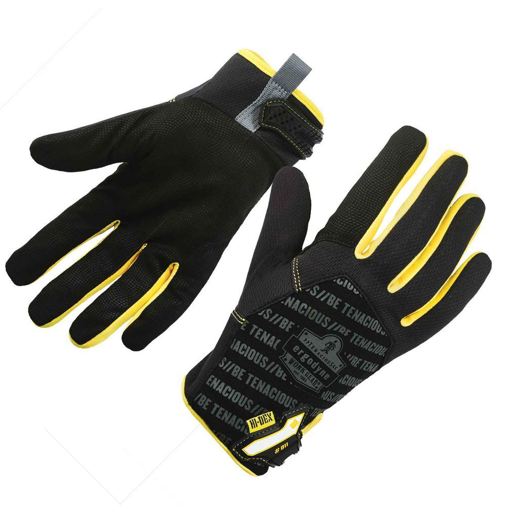 ProFlex Extra Large Black High Dexterity Utility Work Gloves