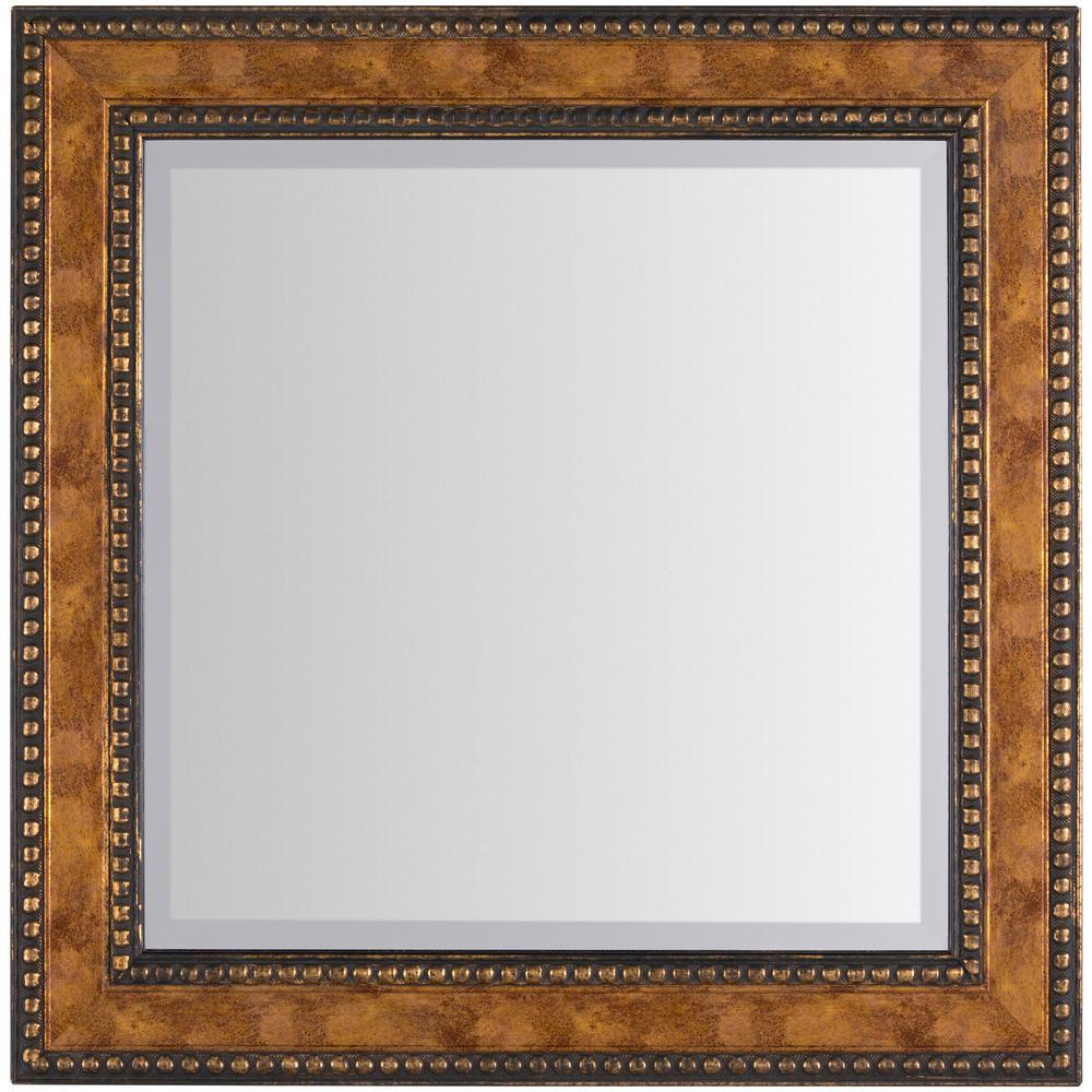 Catriona 24 in. x 24 in. Polystyrene Framed Mirror