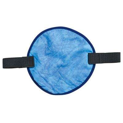 Chill-Its 6715CT Blue Evaporative Hard Hat Pad with  Cooling Towel