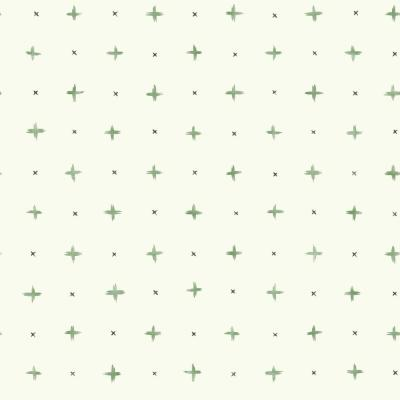 Cross Stitch Paper Strippable Wallpaper (Covers 56 sq. ft.)