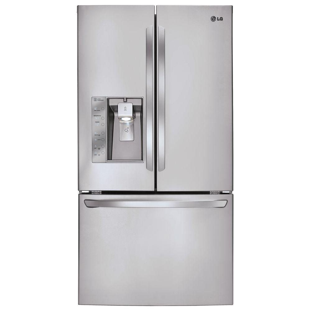 LG Electronics 28.8 cu. ft. French Door Refrigerator in Stainless Steel