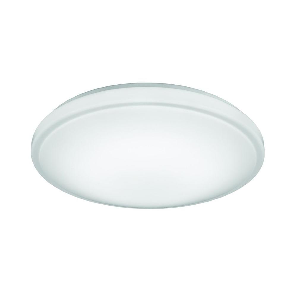 Lithonia Lighting Hildon 14 In White Led Flush Mount