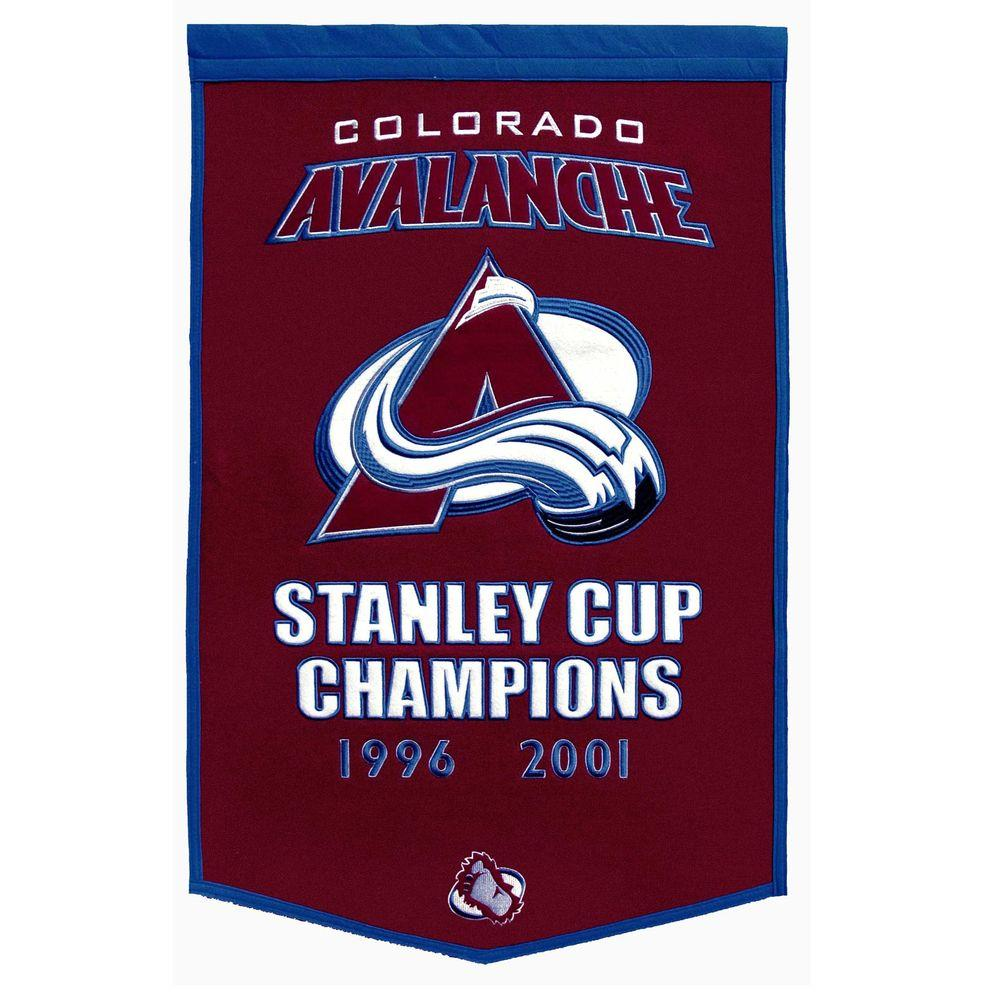 Winning Streak 24 in. x 38 in. NHL License Colorado Avalanche Team Banner-DISCONTINUED