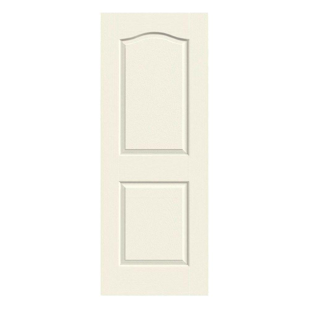 36 in. x 80 in. Princeton Vanilla Painted Smooth Molded Composite