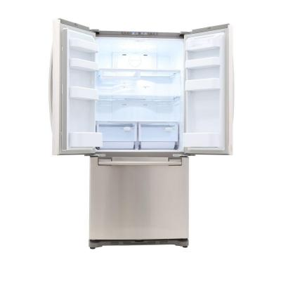 33 in. W 17.5 cu. ft. French Door Refrigerator in Stainless Steel and Counter Depth