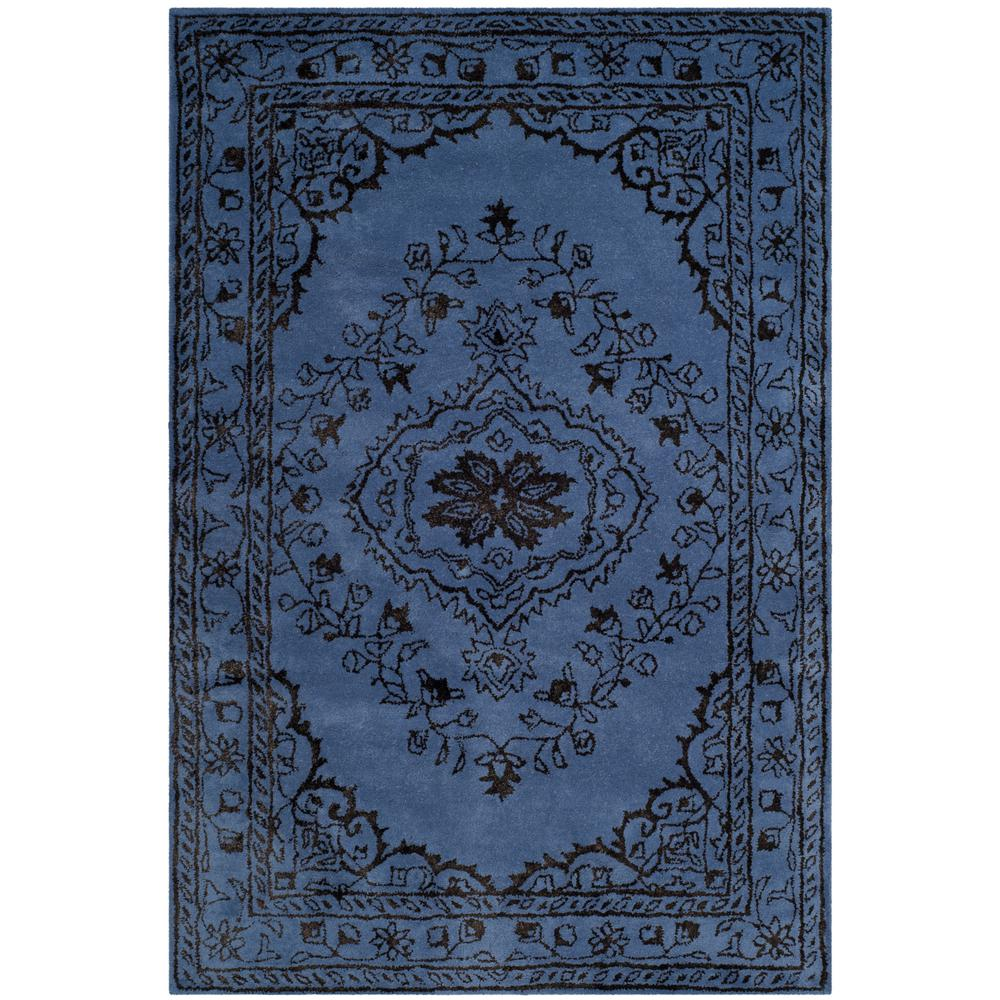 Glamour Purple 4 ft. x 6 ft. Area Rug
