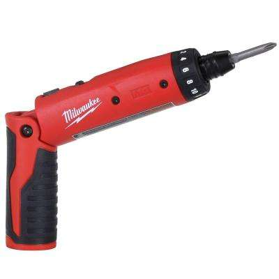 M4 4-Volt Lithium-Ion 1/4 in. Cordless Hex Screwdriver (Tool-Only)