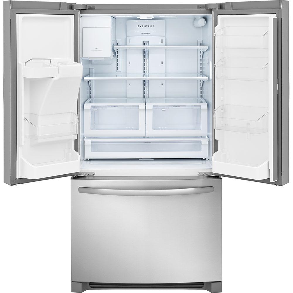 26.8 cu. ft. French Door Refrigerator in Stainless Steel