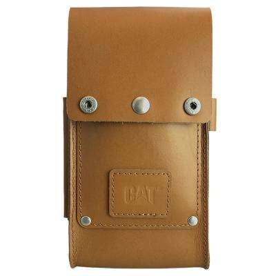 Active Signature Leather Phone Holster, Tan