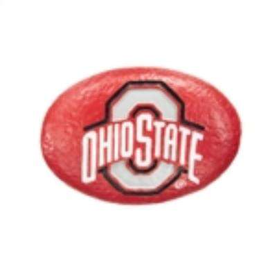 Ohio State University 3 in. x 2 in. Decorative Garden Rock