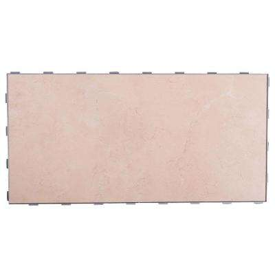 Seashell 12 in. x 24 in. Porcelain Floor Tile (8 sq. ft. / case)