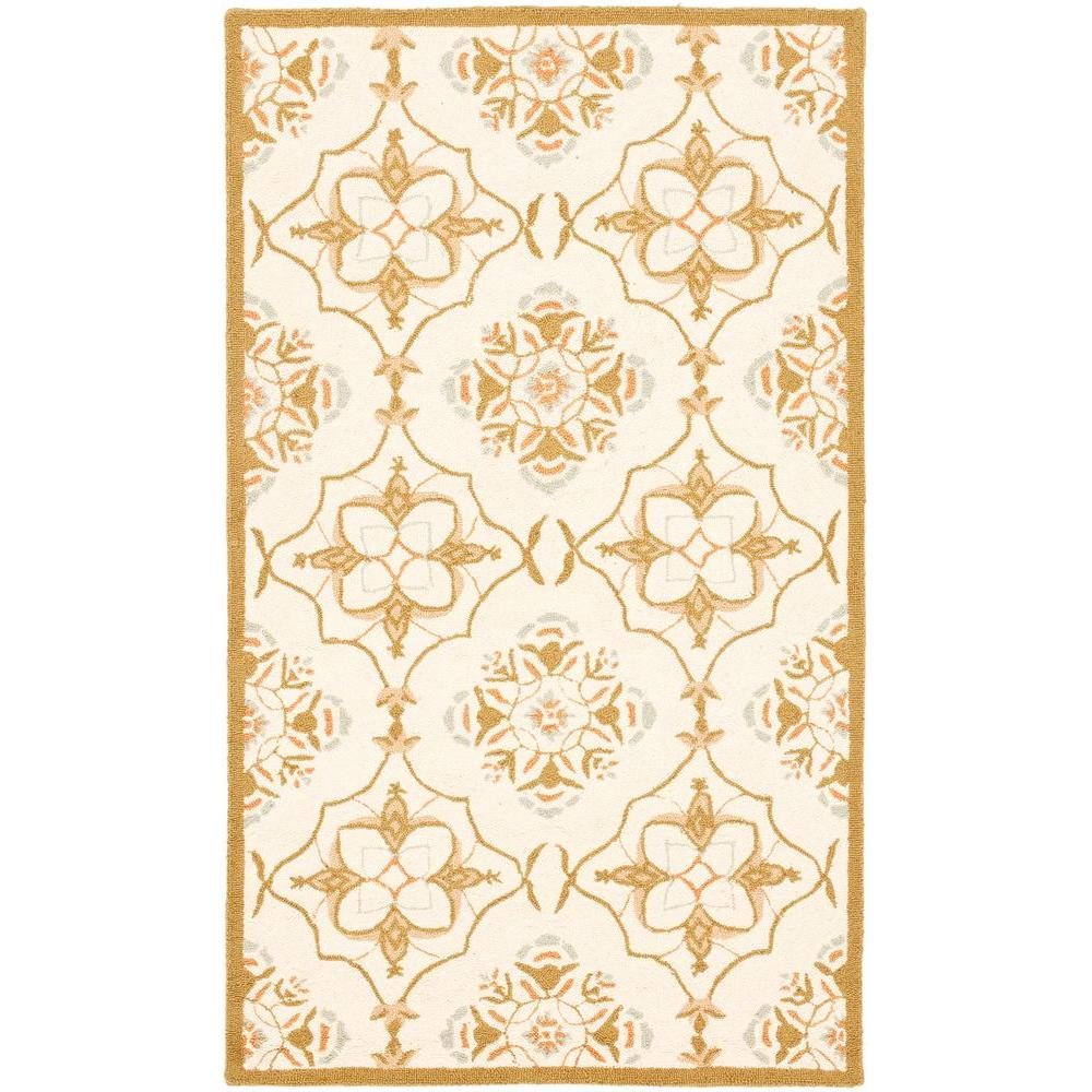 Chelsea Ivory/Green 2 ft. 6 in. x 4 ft. Area Rug