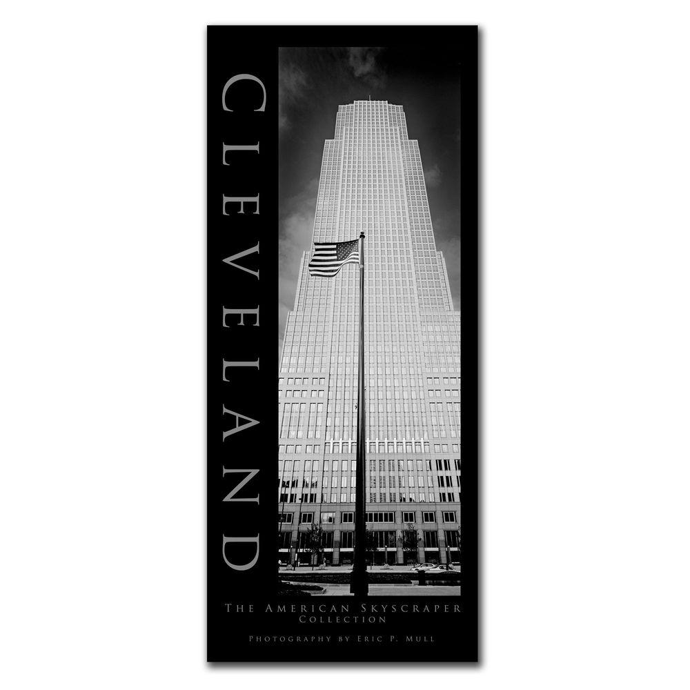 Trademark Fine Art 24 in. x 10 in. Cleveland Canvas Art