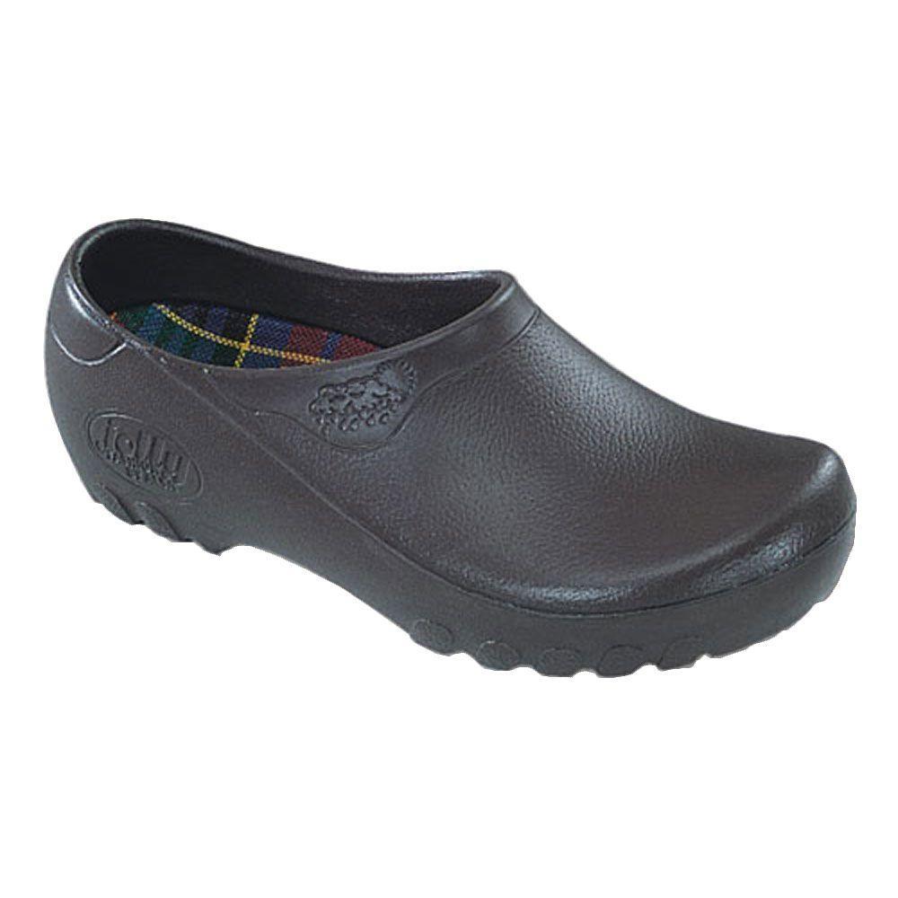 Jollys Men's Brown Garden Shoes - Size 8