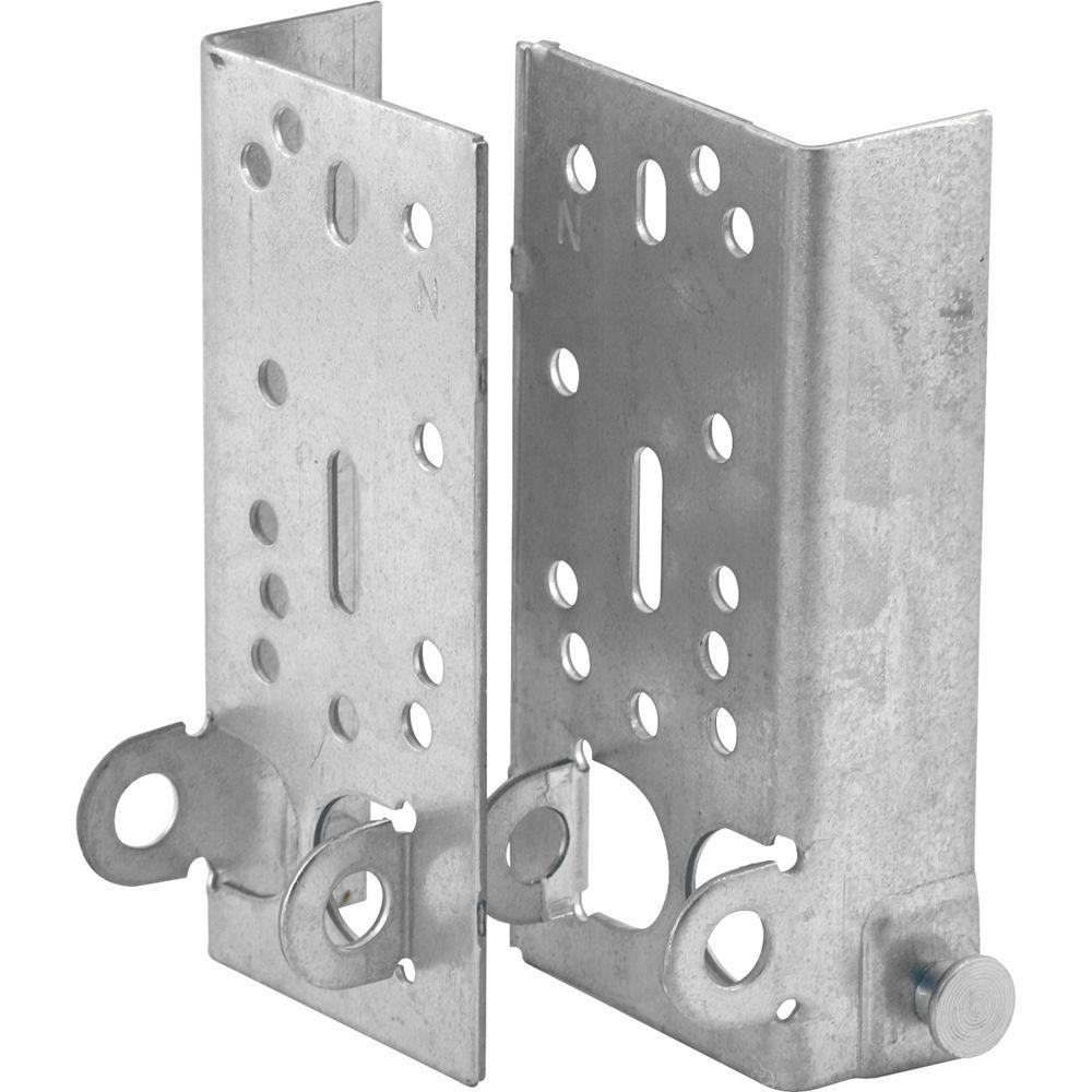 Prime-Line 7/16 in. Stem 1 Each Left and Right Bottom Lifting Brackets without Fasteners