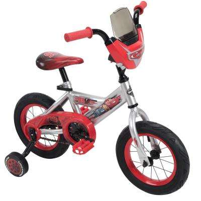 12 in. Boys Disney Pixar Cars Lighting McQueen Bike