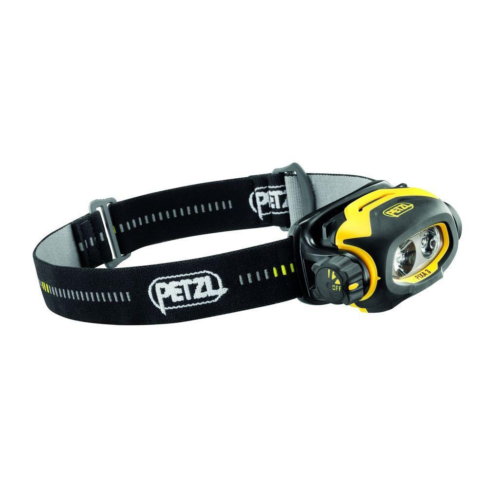 Petzl PIXA 3 Pro HAZLOC Industrial 2 AA LED Headlamp by Petzl