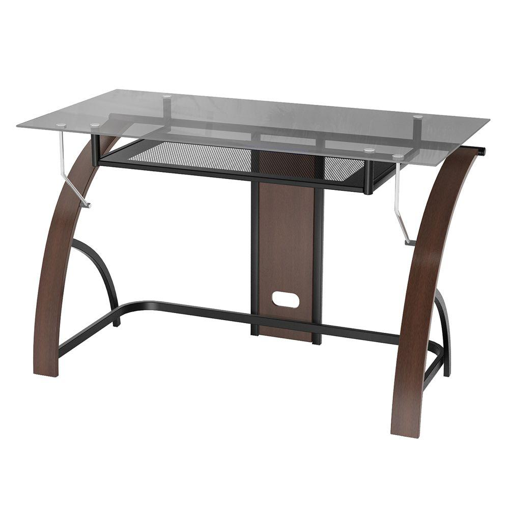 Z Line Designs Espresso Desk