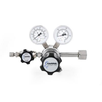 0 PSI to 50 PSI 2-Stage CGA 540 Chrome-Plated, 1/4 in. Compression Fitting, Oxygen Specialty Gas Lab Regulator