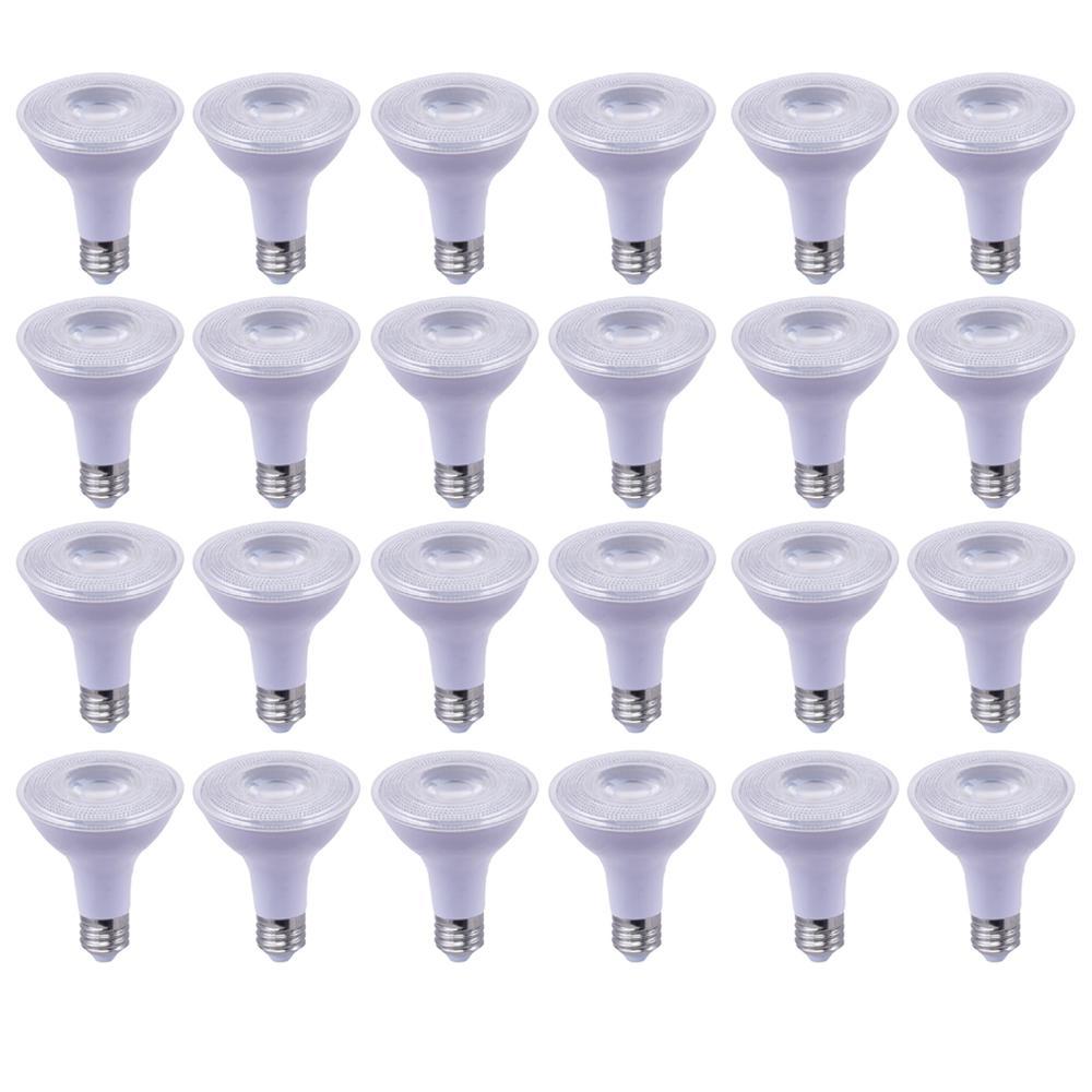 75-Watt Equivalent R30 Dimmable Wet Location ENERGY STAR LED-Light Bulb Soft White (24-Pack)