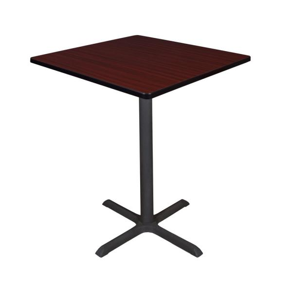 Regency Cain Mahogany 36 in. Square Cafe Table TCB3636MH