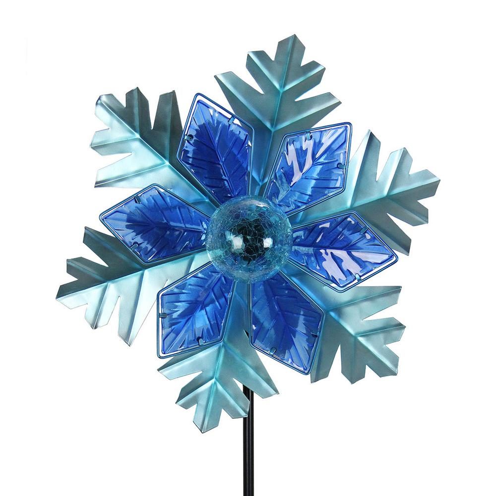 Christmas Garden Stake - Snowflake
